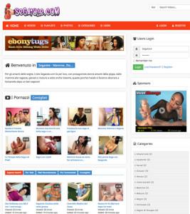 Screenshot Sito Segaiole.com